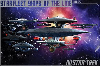Star Trek- Ships Of The Line