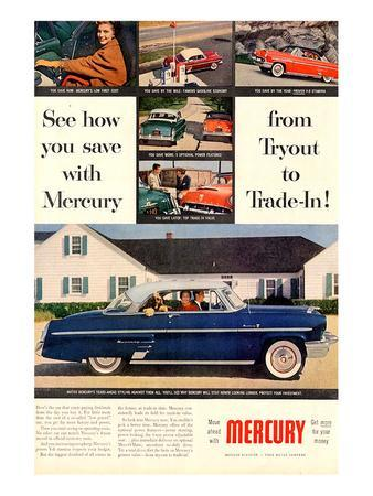 1953 Mercury-See How You Save