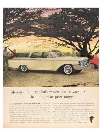 1960 Mercury Country Cruiser