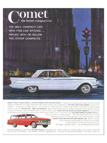 1961 Mercury-Comet Family Size Posters at AllPosters com