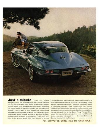 1964 Corvette - Just a Minute