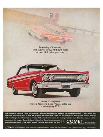 1964 Mercury - Comet Leap Year