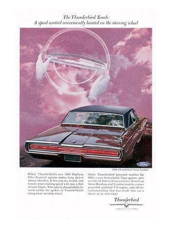 1966 Thunderbird Speed Control
