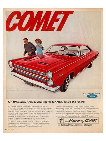 1966 Mercury-Comet New Lengths