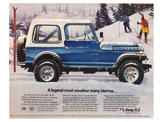 1982 Jeep Renegade A Legend Prints At Allposters