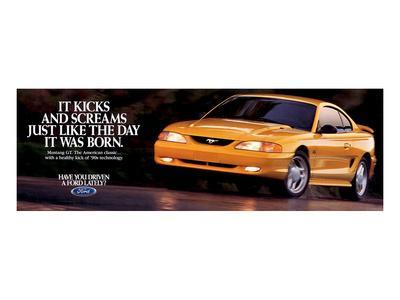 1995 Mustang - Day it Was Born