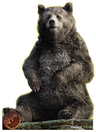The Jungle Book - Baloo Lifesize Standup