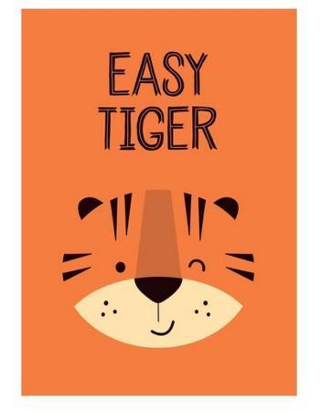 Easy Tiger - Wink Designs Contemporary Print