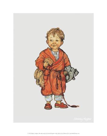 Bedtime - Alfie Illustrated Print