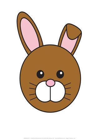 Rabbit - Animaru Cartoon Animal Print