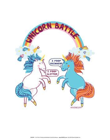 Unicorns - David & Goliath Print