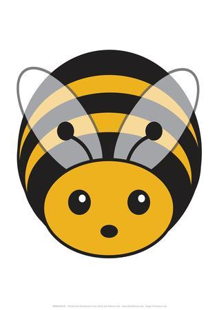 Bee - Animaru Cartoon Animal Print