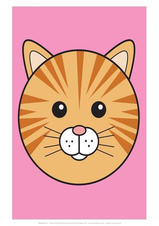 Cat - Animaru Cartoon Animal Print