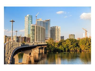 Austin Texas Downtown Skyline