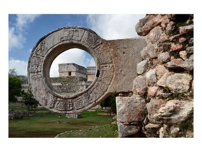 Ball Game Ring Uxmal Yucatan