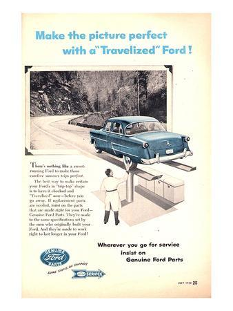Ford 1954 Genuine Ford Parts