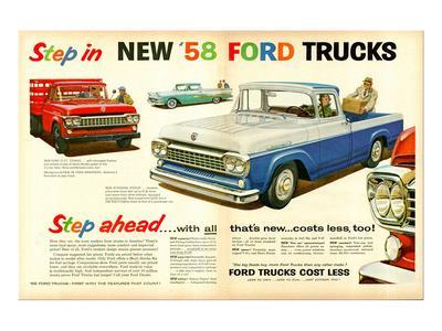 Ford 1958 Step in - Step Ahead