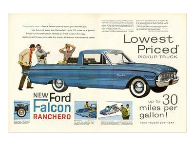 Ford 1960 New Falcon Ranchero