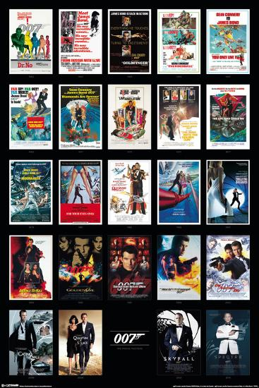 James Bond 24 Movies Posters At Allposters Com