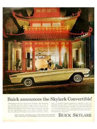 GM Buick Skylark Convertible