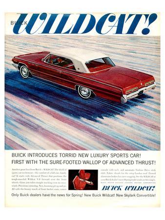 GM Buick Wildcat Sports Car