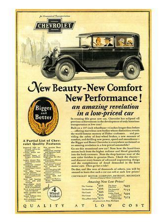 GM Chevrolet-New Beauty Comfort