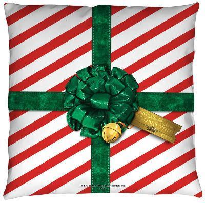 Polar Express - Present Throw Pillow