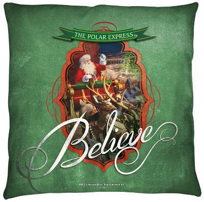 Polar Express - Santa Throw Pillow