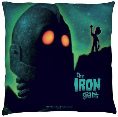 Iron Giant - Look To The Stars Throw Pillow