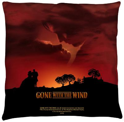 Gone With The Wind - Sunset Throw Pillow