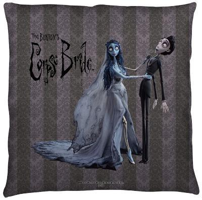 Corpse Bride - Bride And Groom Throw Pillow