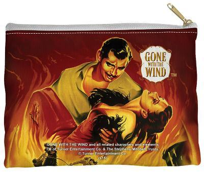 Gone With The Wind - Fire Poster Zipper Pouch