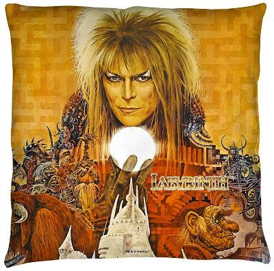 Labyrinth - Crystal Ball Throw Pillow