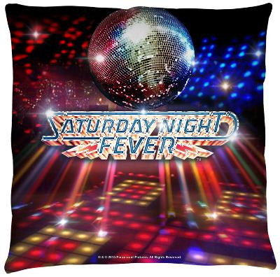 Saturday Night Fever - Dance Floor Throw Pillow