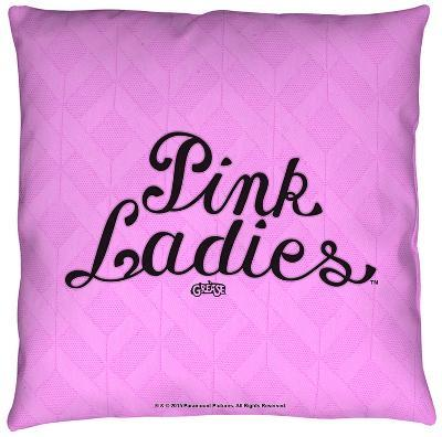 Grease - Pink Ladies Throw Pillow