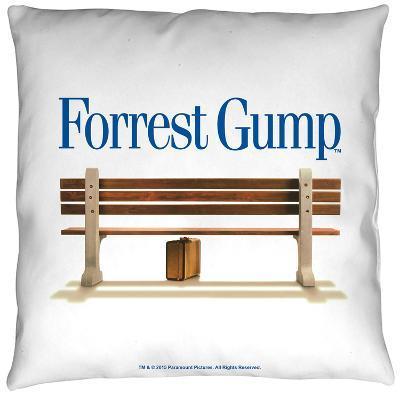 Forrest Gump - Bench Throw Pillow