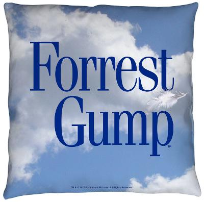 Forrest Gump - Feather Throw Pillow