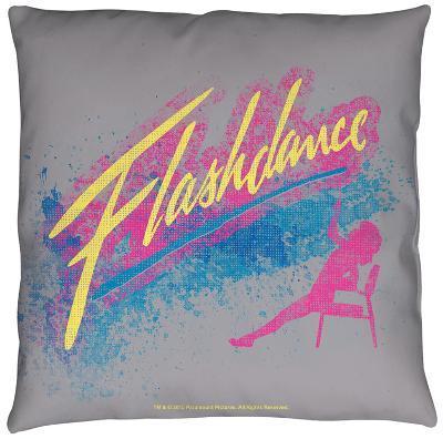 Flashdance - Drop Throw Pillow