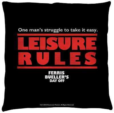 Ferris Bueller - Struggle Throw Pillow
