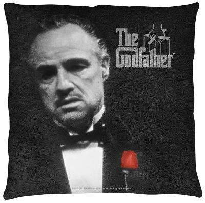 Godfather - Poster Throw Pillow