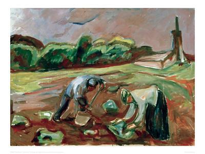 Potato Harvest, 1924