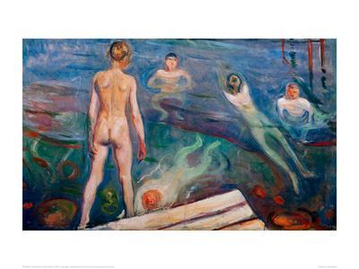 Bathing Boys, 1895