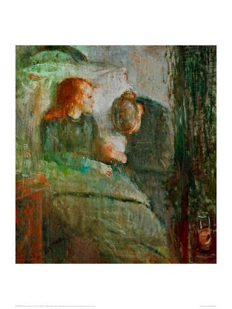 The Sick Child 2, 1896
