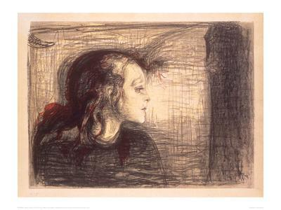 The Sick Girl, 1896