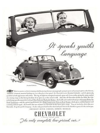 GM Chevy-Speaks Youth Language