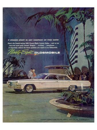 GM Oldsmobile - Ninety Eight