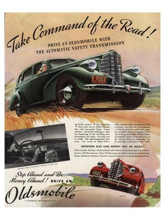 GM Oldsmobile-Command the Road