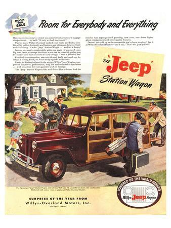 Jeep Station Wagon Room for …
