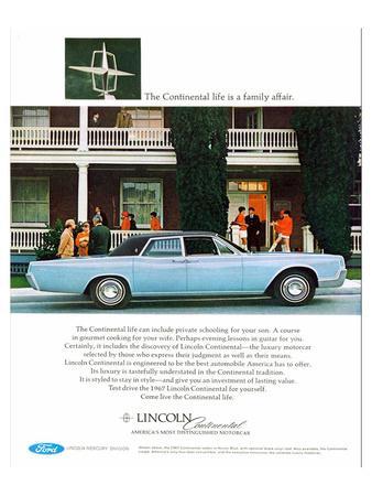 Lincoln 1967 - Family Affair