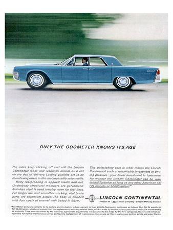 Lincoln 1962 Odometer Knows…